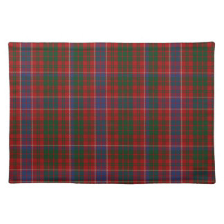 Stylish Blue, Red, And Green MacRae Tartan Plaid Placemat