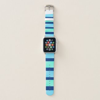 Stylish Blue Shades Apple Watch Band