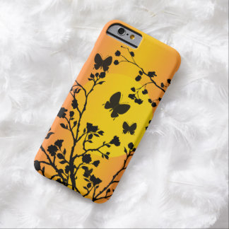 Stylish Butterflies at Sunset Barely There iPhone 6 Case