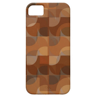 Stylish Cappucino Pattern Barely There iPhone 5 Case