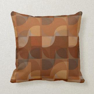 Stylish Cappucino Pattern Throw Pillow