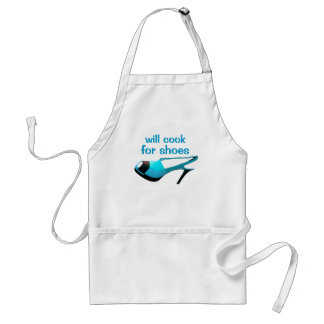 Stylish Chef Loves High Heels Shoes Standard Apron