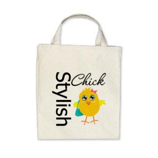 Stylish Chick 2 Canvas Bags