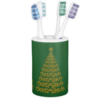 Stylish Christmas Tree Bath Set