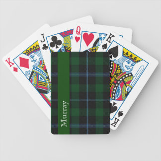 Stylish Clan Murray Tartan Plaid Playing Cards