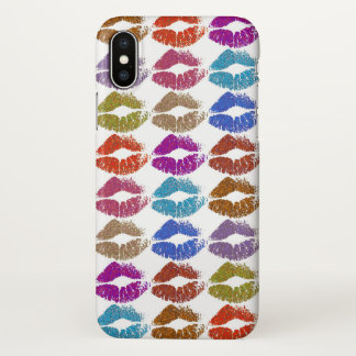 Stylish Colorful Lips #24 iPhone X Case