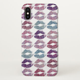 Stylish Colorful Lips #31 iPhone X Case