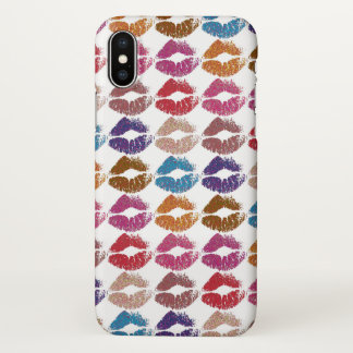 Stylish Colorful Lips #6 iPhone X Case