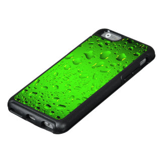 Stylish Cool Green water drops OtterBox iPhone 6/6s Case