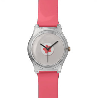 Stylish Coral Busy Lizzy Watch