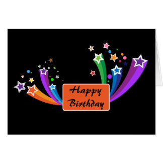 Stylish Corporate Birthday Greeting Card