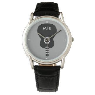 stylish custom acoustic guitar wrist watches