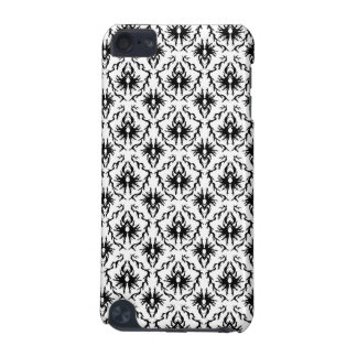 Stylish Damask Design, Black and White. iPod Touch (5th Generation) Cover