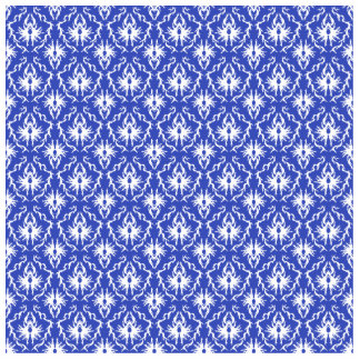 Stylish damask pattern. Blue and white. Acrylic Cut Out