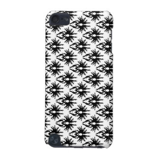 Stylish Damask Pattern in Black and White. iPod Touch 5G Case