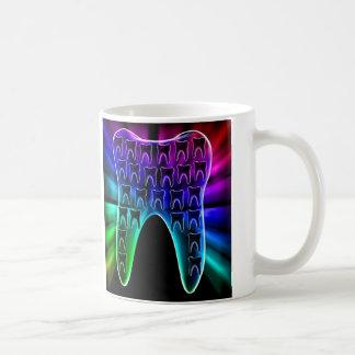 Stylish dental art mug