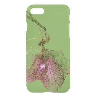 Stylish elegant floral print hellebore iPhone 7 case