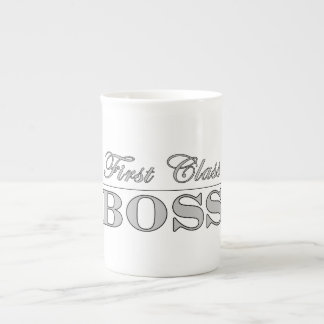 Stylish Elegant Gifts for Bosses First Class Boss Tea Cup