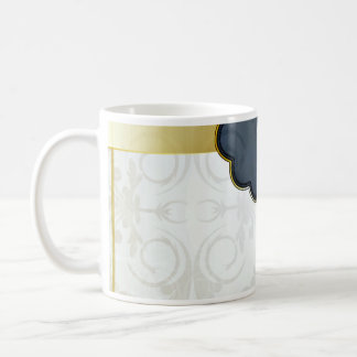 Stylish floral art valentine gift mug