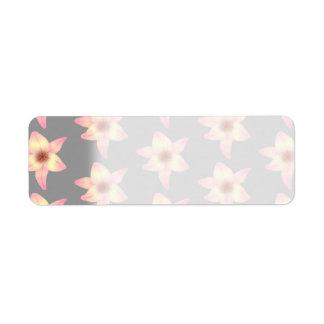Stylish Floral Design. Lily Pattern.