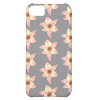 Stylish Floral Design. Lily Pattern. iPhone 5C Case