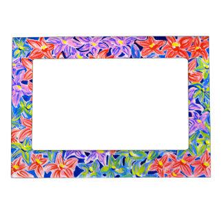 Stylish Floral Frame Magnetic Frames