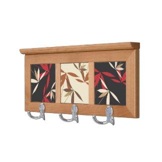 Stylish Floral Home Decor Coat Rack