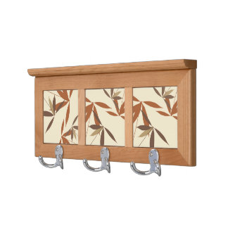 Stylish Floral Home Decor Coat Rack