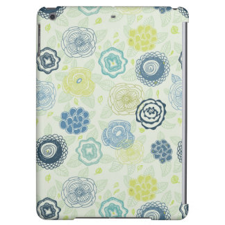 Stylish floral pattern with cute flowers