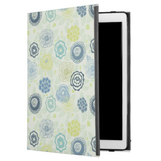 "Stylish floral pattern with cute flowers iPad pro 12.9"" case"
