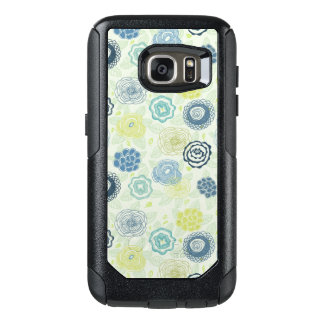 Stylish floral pattern with cute flowers OtterBox samsung galaxy s7 case