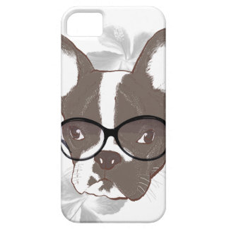 Stylish french bulldog case for the iPhone 5