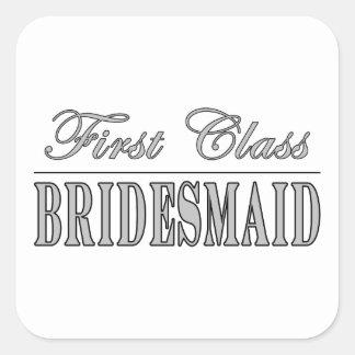 Stylish Fun Bridesmaids Gifts : First Class Brides Sticker