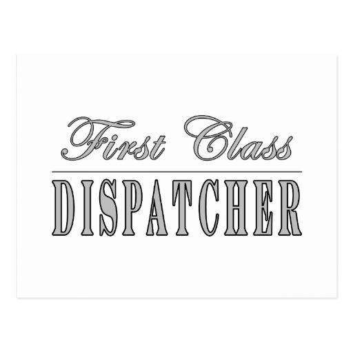 Stylish Fun Dispatchers : First Class Dispatcher Postcards