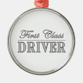 Stylish Fun Drivers : First Class Driver Christmas Ornament