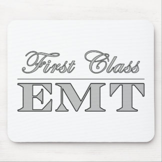 Stylish Fun EMTs : First Class EMT Mouse Pad