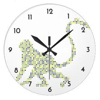 Stylish Funky Monkey Large Clock