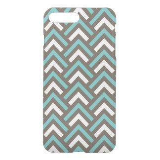 Stylish Geometric Triangles Retro Stripes Pattern iPhone 7 Plus Case
