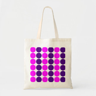 Stylish Gifts for Girls : Pink & Purple Polka Dots Canvas Bags