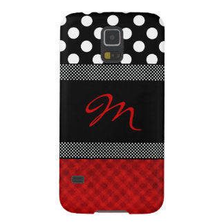 Stylish Girly Monogram Samsung Galaxy Nexus Case