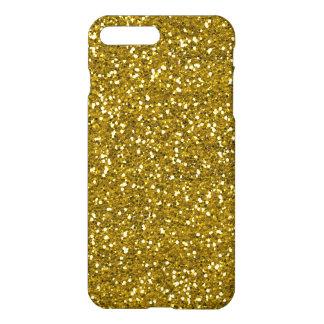 Stylish Glitter Gold iPhone 7 Plus Case