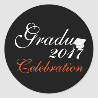 Stylish Graduation 2017 Sticker