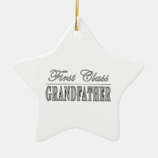 Stylish Grandfathers Gifts First Class Grandfather Ornaments
