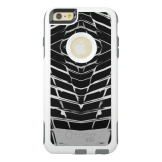 Stylish Gray and Black Pattern OtterBox iPhone 6/6s Plus Case