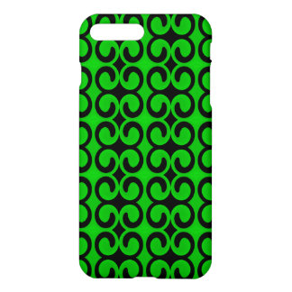 Stylish Green and Black Pattern iPhone 8 Plus/7 Plus Case