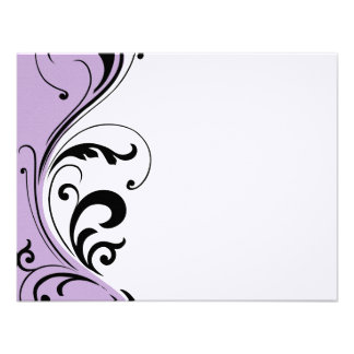 Stylish Hair Salon Notecards Personalized Announcement