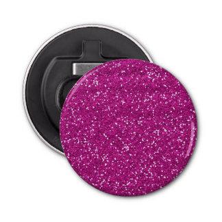 Stylish Hot Pink Glitter Bottle Opener