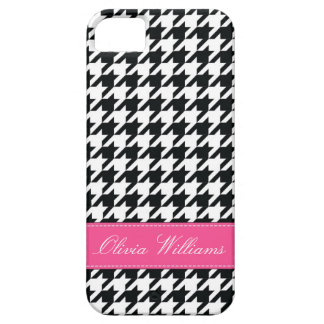 Stylish Houndstooth Case For The iPhone 5