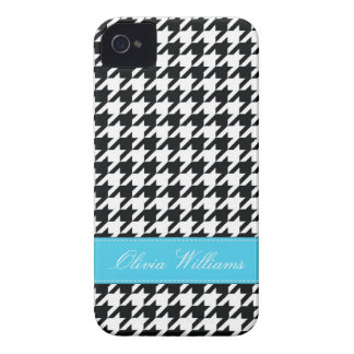 Stylish Houndstooth Case-Mate iPhone 4 Cases