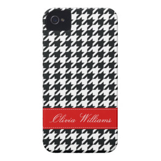 Stylish Houndstooth iPhone 4 Covers